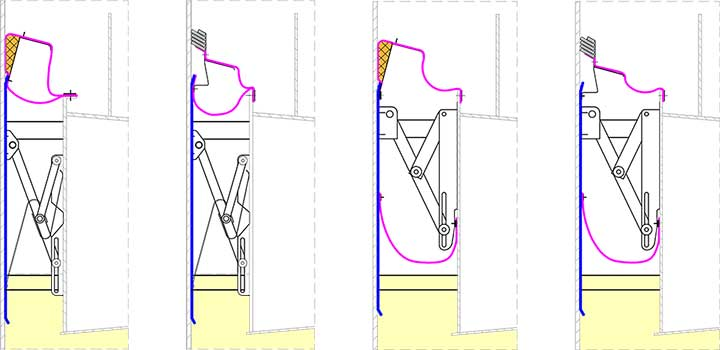 External Floating Roofs Integrated Double Seals